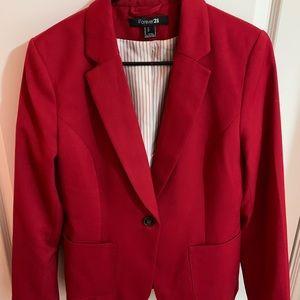 Forever 21 Red Blazer